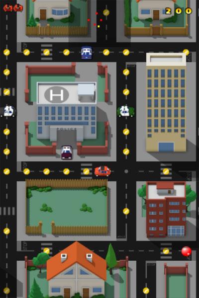 Màn hình chơi game Thoát khỏi cảnh sát