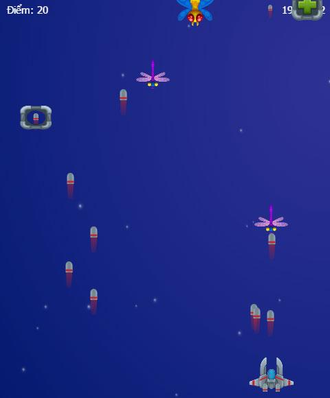 Chơi game Diệt bọ không gian