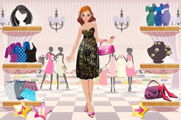 Chọn trang phục trong game Trang điểm Nora