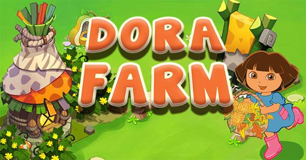 Dora làm vườn