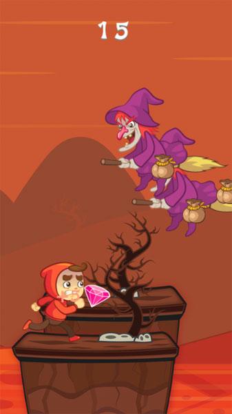 Màn hình chơi game Con đường phép thuật