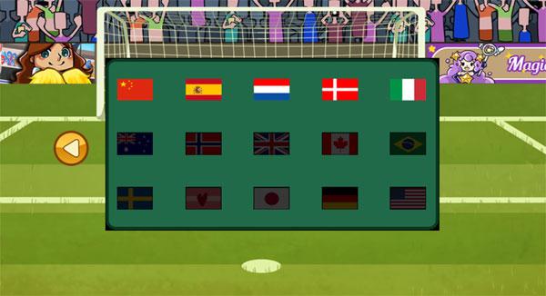 Các đội đối thủ trong Penalty bóng đá nữ