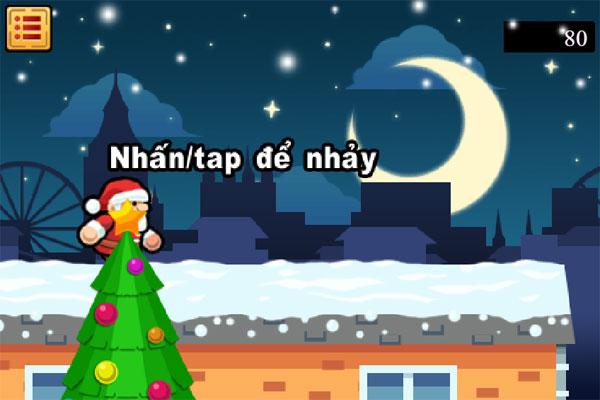 Màn hình chơi game Giáng sinh điên rồ