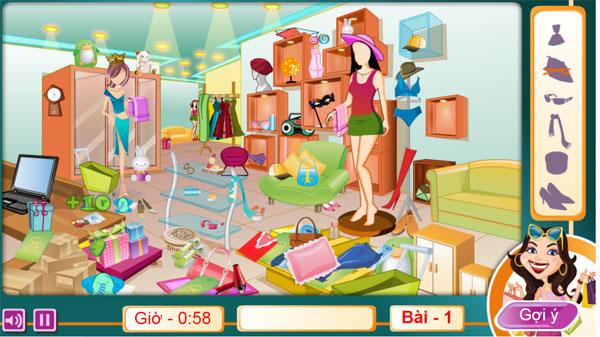 Chơi game Thỏa sức shopping online