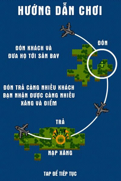 Cách tính điểm game Điều khiển máy bay