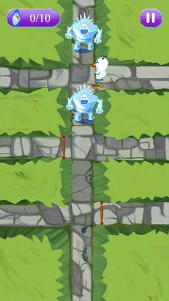 Màn hình chơi game Olaf phiêu lưu