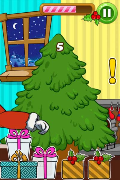 Màn hình chơi game Tặng quà giáng sinh