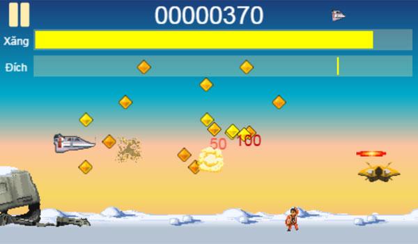 Màn hình chơi game Giải cứu phi công
