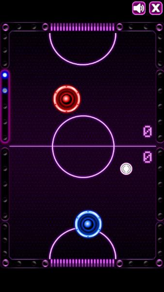 Màn hình chơi game Air Hockey Online