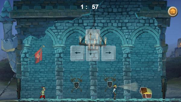 Màn hình chơi game Người hùng Robin Hood