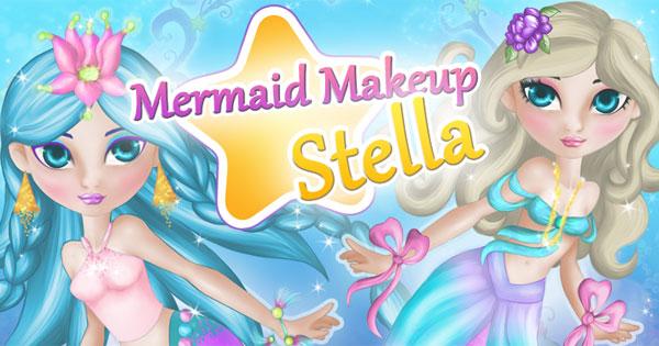 Mermaid MakeUp Stella