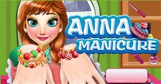 Anna làm móng