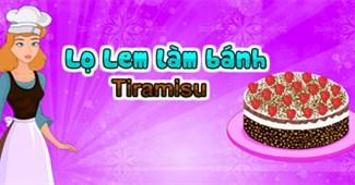 Lọ Lem làm bánh Tiramisu