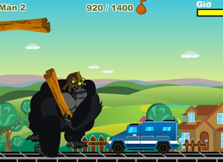King Kong nổi giận