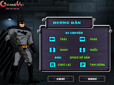 Batman bắn súng