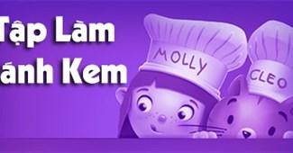 Tập làm bánh kem