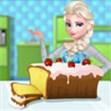 Elsa làm bánh