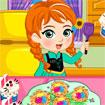 Anna làm bánh