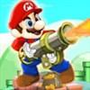 Mario bắn Bazooka