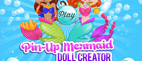 Pin up Mermaid Doll Creator