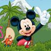 Mickey nhặt chìa khóa