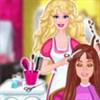 Barbie làm tóc