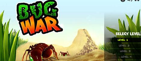 Bug War - Game Vui