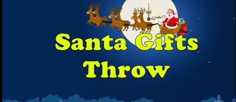Santa Gifts Throw