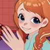 Anna trị thương tay