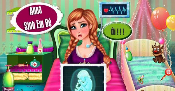 Anna sinh em bé