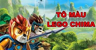 Tô màu Lego Chima