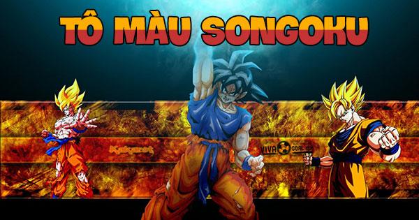 Tô màu Songoku