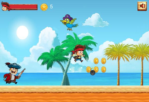 Chơi game Cướp biển đào tẩu