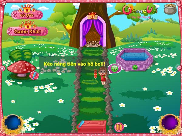 Hướng dẫn chơi game Tiệm Spa tiên nữ