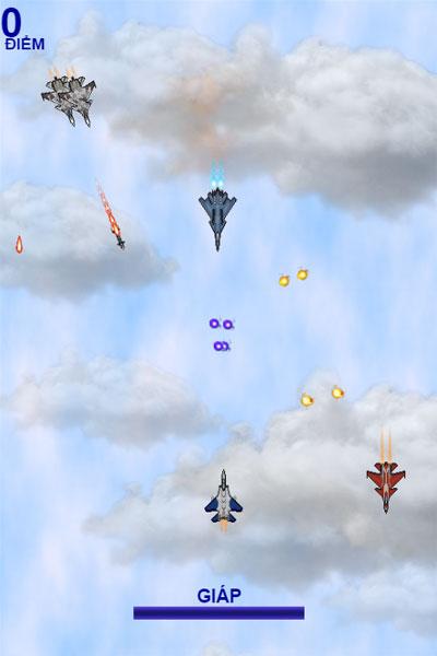 Bắn máy bay địch trong Không kích