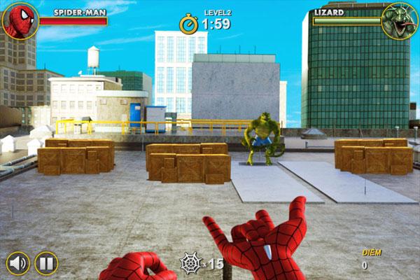 Chơi game Spiderman hành động