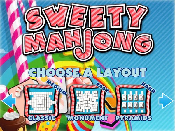 Chọn bài trong Mahjong kẹo ngọt