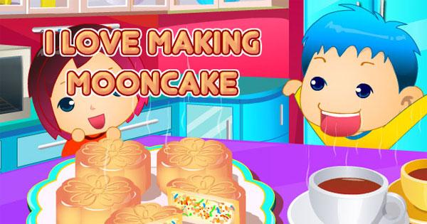 I Love Making Mooncake