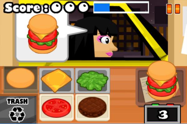 Chơi game Tiệm Burger tốc độ