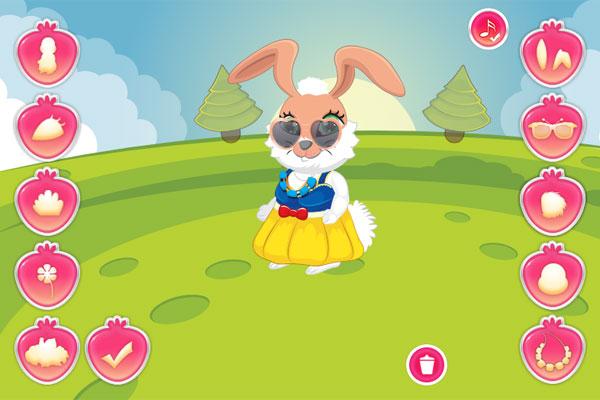 Thời trang thỏ xinh