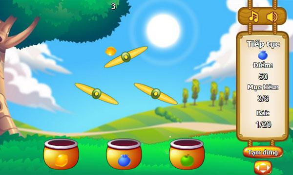 Chơi game Phân loại hoa quả 2