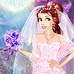 Princess Belle Gorgeous Ball Dress Up