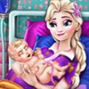 Elsa sinh em bé 3