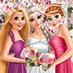 Eliza and princesses wedding