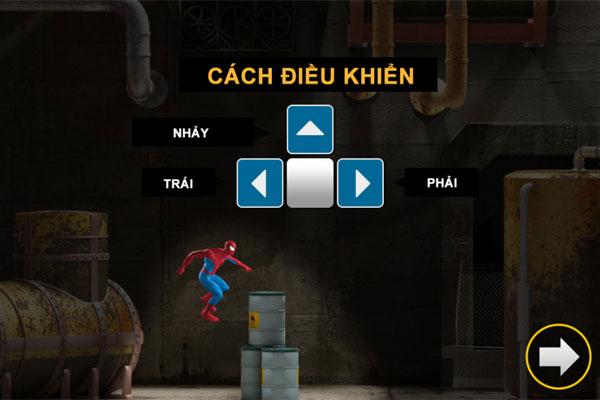 Cách điều khiển Spiderman giải cứu