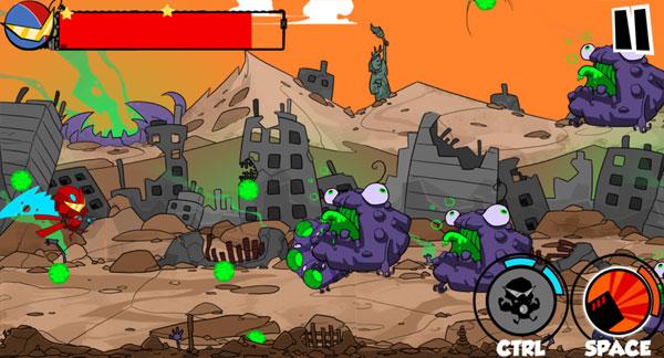 Robot cận chiến Tấn công quái mập