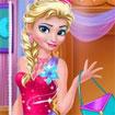 Elsa trang điểm