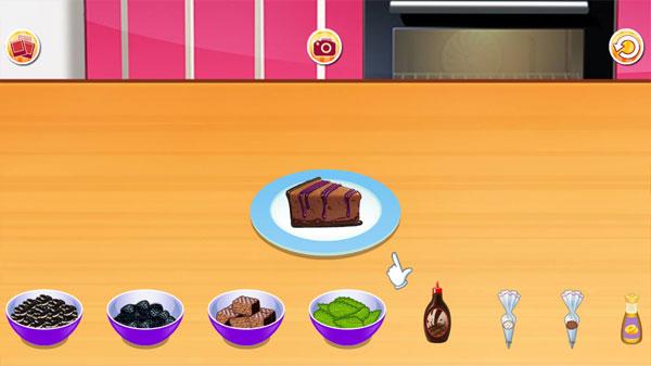 Trang trí trong Làm bánh pho mát Socola
