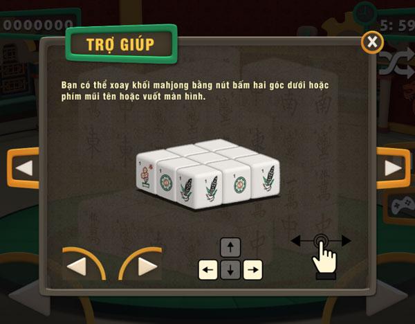 Cách chơi Mahjong 3D Online