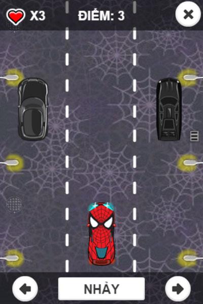 Chơi game Lái xe Người nhện